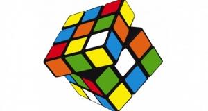 Как собрать кубик Рубика внутри банки