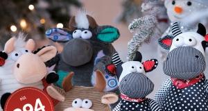 Іграшки Same Toy: найкраща компанія до Новорічних свят