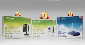 Итоги конкурса TP-LINK! Две IP-камеры и ADSL-модем нашли своих новых владельцев!