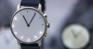 Nevo - умные часы в минималистическом стиле, которые не придется заряжать