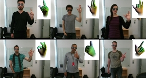 Microsoft Research создали программное обеспечение «Handpose», которое отслеживает движения ладоней и пальцев