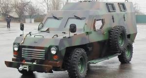Новый бронеавтомобиль Барс для Нацгвардии от украинского автопроизводителя