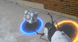 Гра Portal з окулярами доповненої реальності HOLOLENS