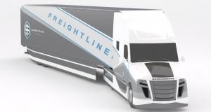 Футуристический супер-тягач Daimler уменьшает расход топлива в два раза