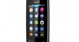 Nokia Asha 310 – первый Asha-смартфон с поддержкой двух SIM-карт