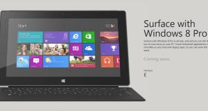 Surface под управлением Windows 8 Pro скоро в Европе