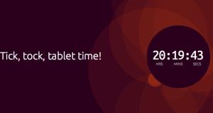 На сегодня запланирован анонс ОС Ubuntu для планшетов