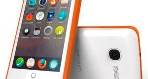 Ответ на Google Phone от Mozilla Alcatel
