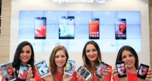 Четыре новые линейки смартфонов LG Optimus