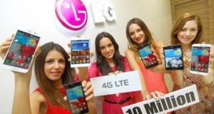 LG продала 10 миллионов LTE-смартфонов