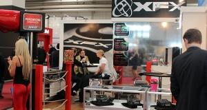 XFX продемонстрировала прототип своего первого корпуса, а также несколько блоков питания и видеокарт