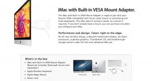 В Apple порадовали поклонников iMac адаптерами VESA