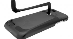 Новый чехол для iPhone 5 позволит вручную зарядить аккумулятор