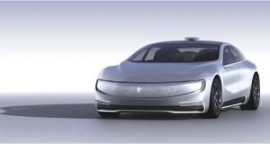 Китайська компанія LeEco, яка співпрацює з Faraday Future, представила власний електрокар
