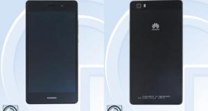 Huawei работает над уменьшенной версией Ascend P8