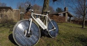 Велосипед на солнечных батареях Solarbike - неожиданное решение
