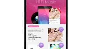 Новый сервис LG - Hi-Fi музыка в смартфонах