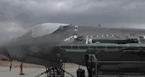 Первое испытание бортового оружия самолета F-35