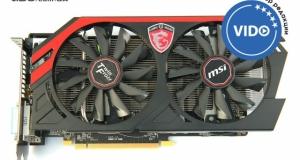 Видеообзор видеокарты MSI Radeon R9 270 Gaming 2G: ледяной дракон