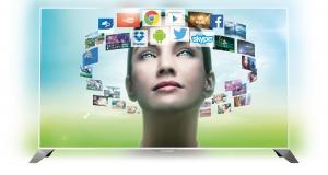 На украинский рынок поступили первые телевизоры Philips на базе ОС Android