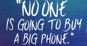 Samsung посмеялась над релизом iPhone 6 с большим дисплеем