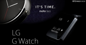 Выбираем умные часы на Android Wear: G Watch VS Gear Live VS Moto 360