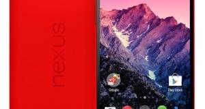 Nexus 5 в красном цвете