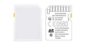 Toshiba представила карту памяти с поддержкой Wi-Fi