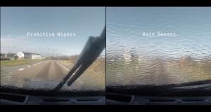 Система очищення вітрового скла автомобіля, яка опереджає дощ