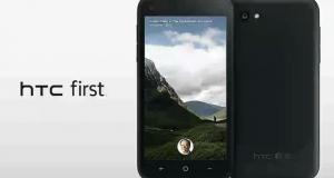 HTC First – первый шаг на пути к социальной интеграции