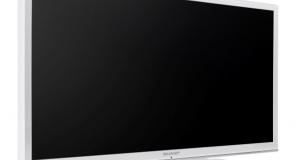 Новый компактный телевизор Sharp LE350