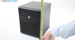 HP ProLiant MicroServer – первый сервер небольшой компании