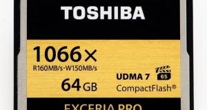 Самая быстрая в мире карта памяти от Toshiba