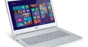 Acer добавила 30% мощности к ультрабуку S7-392