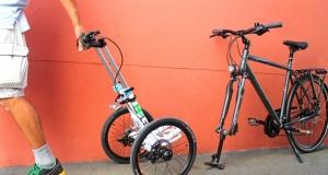 Революція у світі велобайків: візок-трансформер замість переднього колеса