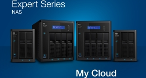 Новые сетевые хранилища под управлением My Cloud OS используют накопители WD Red