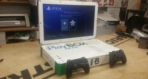 Технологический фрик собрал воедино консоли Xbox One и PS4 [видео]