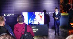 Sony презентувала нову лінійку телевізорів MASTER Series