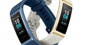 Стильний і «розумний»: Huawei розпочинає продажі фітнес-браслета Band 3 Pro в Україні
