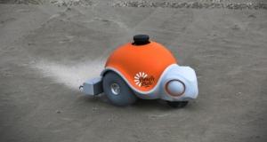 Дисней сделали пляжного робота, который рисует на песке