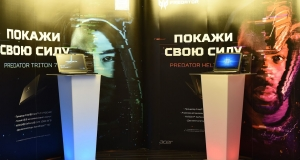 Acer представила в Києві ігрові ноутбуки серії Predator - Helios 300 та Triton 700
