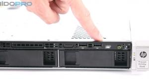 Видеообзор стоечного сервера начального уровня HP ProLiant DL320e G8