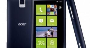 Acer не отказывается от Windows Phone, но и не торопится с выпуском новых смартфонов!
