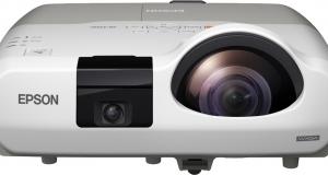 Новые интерактивные проекторы Epson