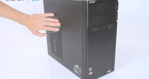 Acer Aspire M1470: весь в работе