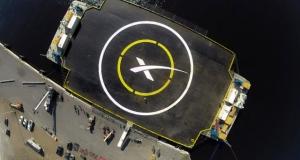 SpaceX попытается посадить ракету Falcon 9 на океанскую платформу