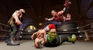 Візьми участь в боях в стилі королівської битви, змагайся без обмежень у WWE 2K BATTLEGROUNDS
