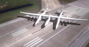 Новый самолет Stratolaunch является самым крупным из когда-либо построенных
