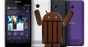 KitKat для Xperia E1 и Xperia E1 Dual – Sony обновляет прошивку