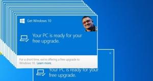 Microsoft загружает Windows 10, не спрашивая разрешения